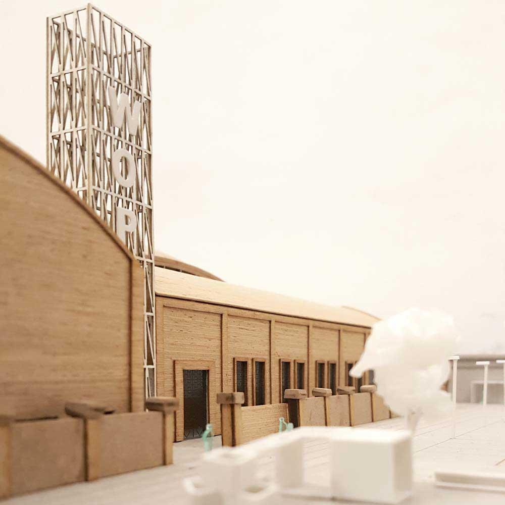 Pasubio factory renovation in Parma, Italy