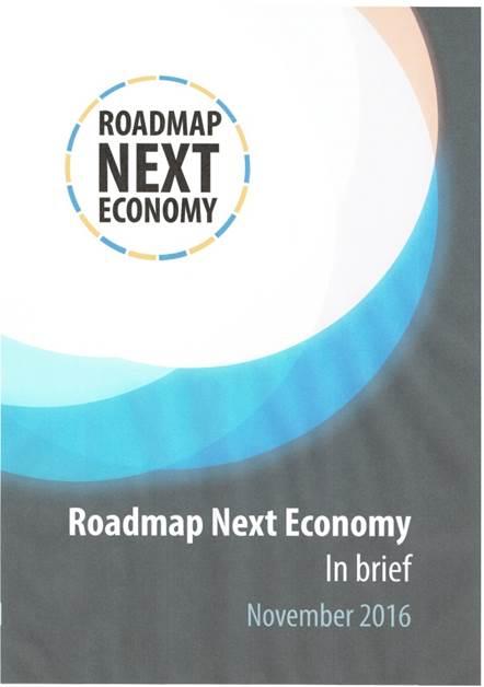 Chairing 'Circular Economy' transition pathway Roadmap Next Economy - MRDH